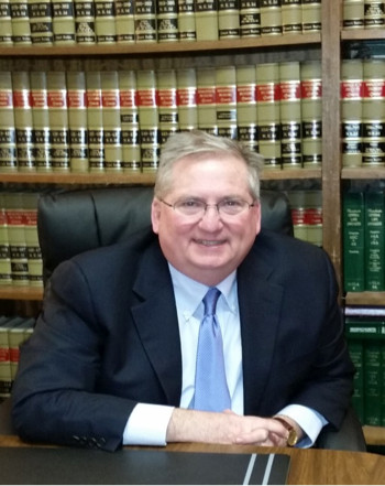 Attorny Mark H. Tay in his law office at Tay & Tay